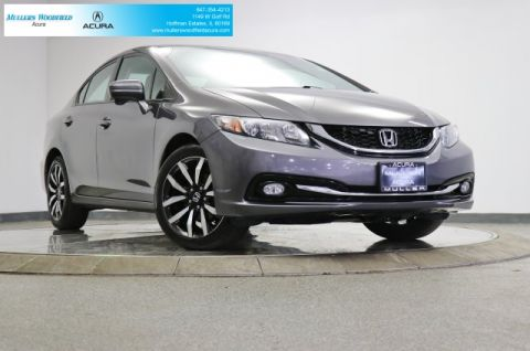 Used 2015 Honda Civic EX-L Cars w/Navigation